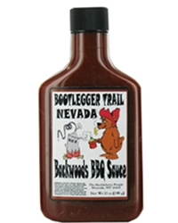 BBQ Sauce - 8 oz Flask Bottle