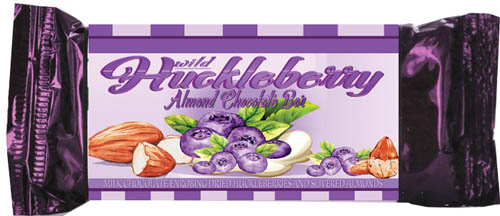 Almond Wild Huckleberry Candy Bar