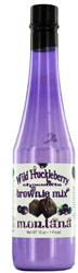 Wild Huckleberry Brownie Mix in Bottle