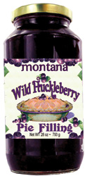 Wild Huckleberry Pie Filling